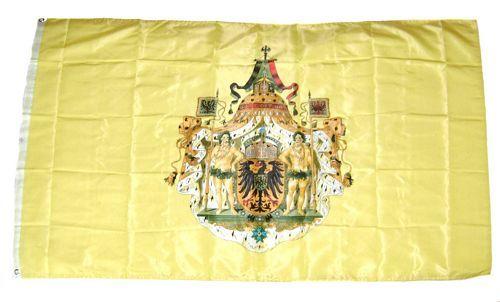 Fahne / Flagge Deutsches Reich Kaiser Wappen 90 x 150 cm