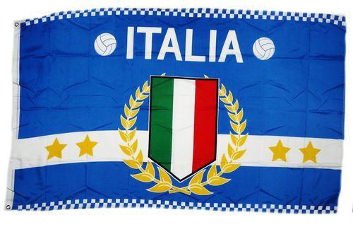 Fahne / Flagge Italien 4 Sterne 90 x 150 cm