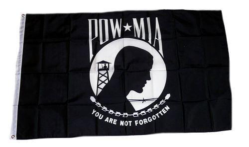 Fahne / Flagge Pow Mia 90 x 150 cm