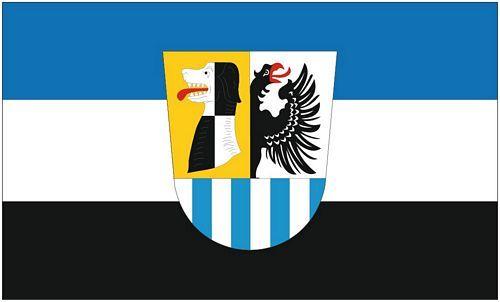 Fahne / Flagge Landkreis Neustadt - Bad Windsheim 90 x 150 cm