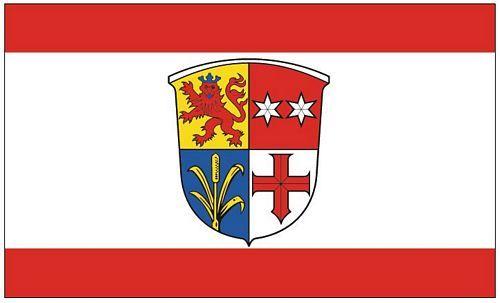Fahne / Flagge Groß Rohrheim 90 x 150 cm