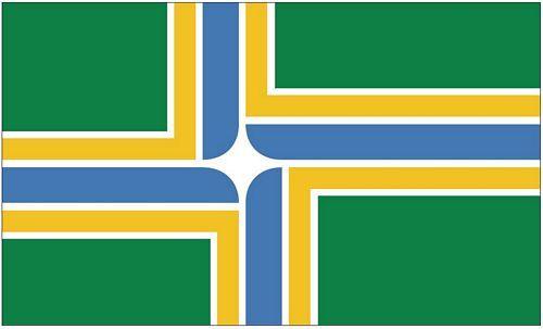 Fahne / Flagge USA - Portland 90 x 150 cm