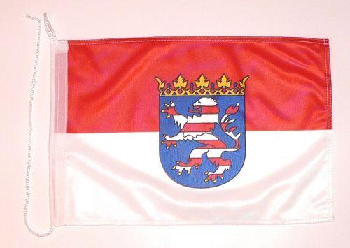 Bootsflagge Hessen 30 x 45 cm