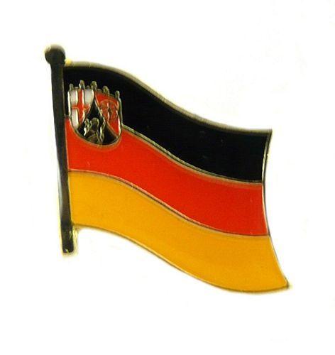 Flaggen Pin Fahne Rheinland Pfalz Anstecknadel Flagge