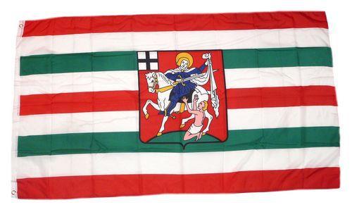 Flagge / Fahne Olpe Hissflagge 90 x 150 cm