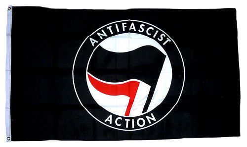 Fahne / Flagge Antifaschismus 90 x 150 cm