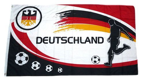 Fahne Flagge Deutschland Fussball 12 Fan