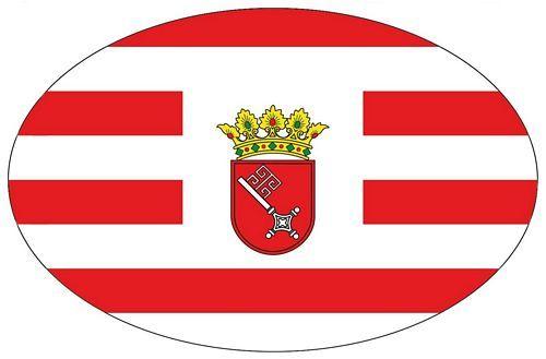 Wappen Aufkleber Sticker Bremen