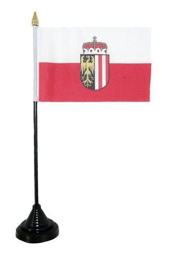 Tischfahne Österreich - Oberösterreich 11 x 16 cm Fahne Flagge