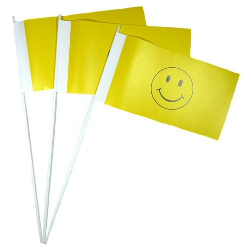 Papierfahnen Smile