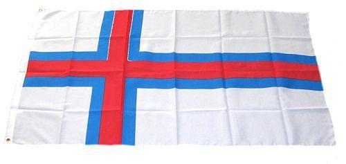 Flagge / Fahne Färöer Inseln Hissflagge 90 x 150 cm