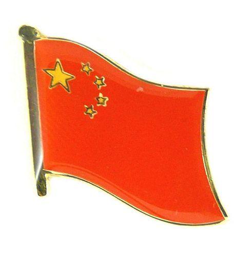 Flaggen Pin Fahne China Pins NEU Anstecknadel Flagge