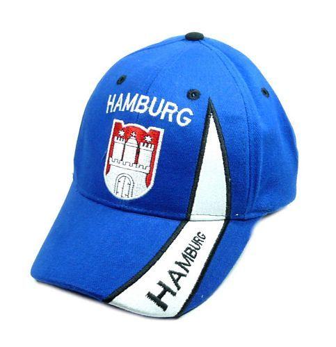 Basecap Hamburg blau
