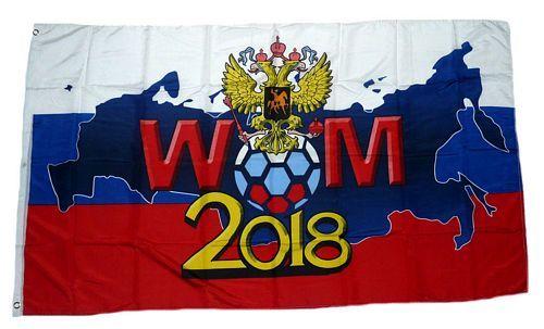 Fahne / Flagge Russland WM 2018 Adler 90 x 150 cm