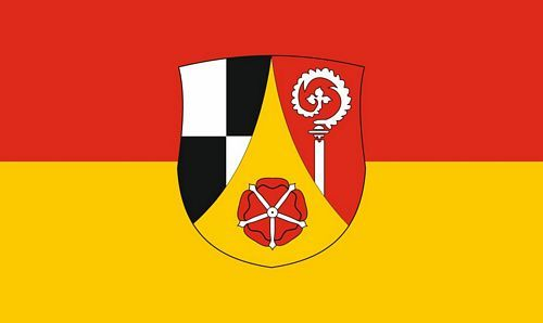 Fahne / Flagge Landkreis Roth 90 x 150 cm