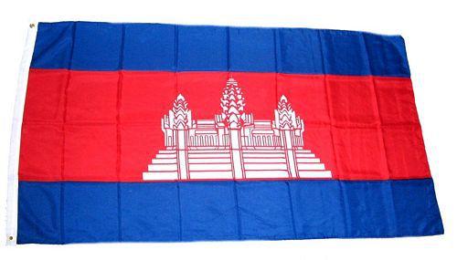 Flagge / Fahne Kambodscha Hissflagge 90 x 150 cm