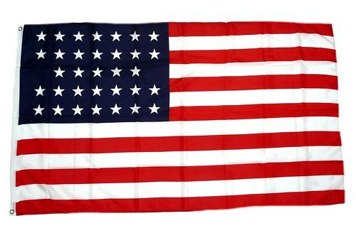 Flagge / Fahne USA - 33 Sterne 90 x 150 cm