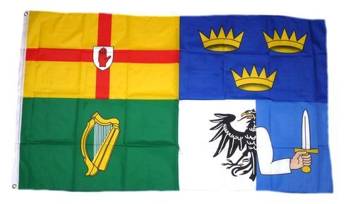 Fahne / Flagge Irland - 4 Länder 90 x 150 cm