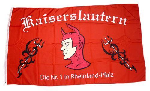 Fahne / Flagge Fußball Kaiserslautern 90 x 150 cm