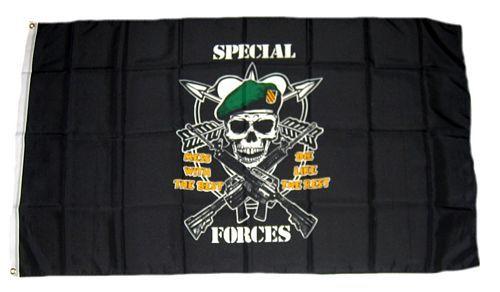 Fahne / Flagge US Special Forces 90 x 150 cm Flaggen