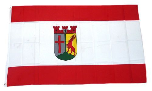 Flagge / Fahne Berlin Tempelhof Schöneberg Hissflagge 90 x 150 cm