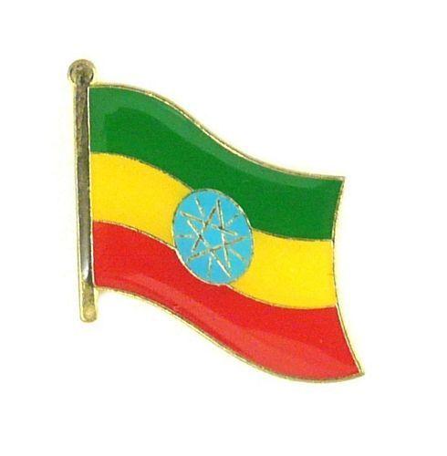 Flaggen Pin Fahne Äthiopien Pins Anstecknadel Flagge