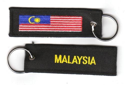 Fahnen Schlüsselanhänger Malaysia