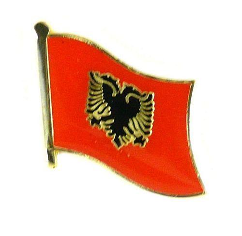 Flaggen Pin Fahne Albanien NEU Pins Anstecknadel Flagge