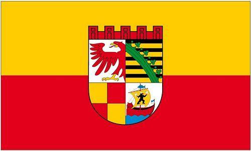 Fahne / Flagge Dessau Roßlau 90 x 150 cm