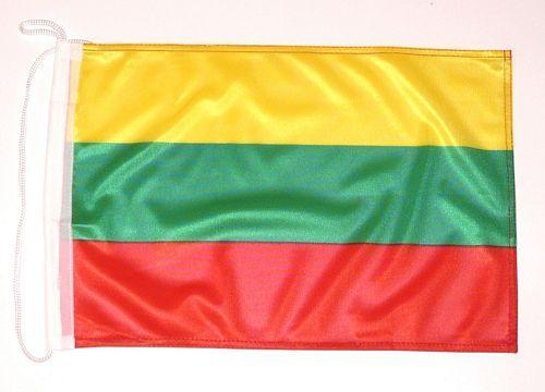 Bootsflagge Litauen 30 x 45 cm