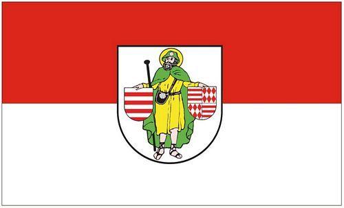 Fahne / Flagge Hettstedt 90 x 150 cm