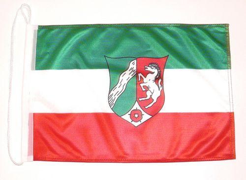 Bootsflagge Nordrhein Westfalen 30 x 45 cm