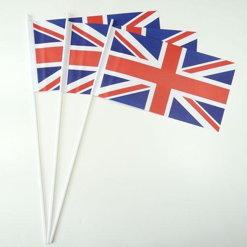 10 Papierfähnchen Großbritannien Papierfahnen Fahne
