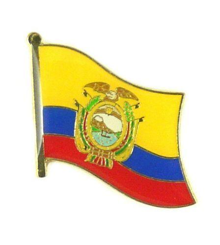 Flaggen Pin Fahne Ecuador Pins NEU Anstecknadel Flagge