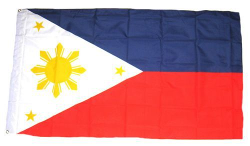 Flagge / Fahne Philippinen Hissflagge 90 x 150 cm