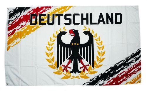 Fahne / Flagge Deutschland Fan weiß 1909 90 x 150 cm