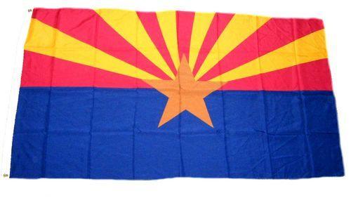 Fahne / Flagge USA - Arizona 90 x 150 cm