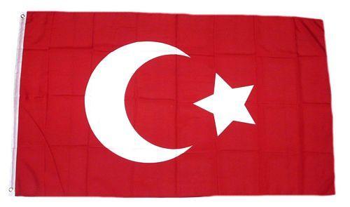 Fahne / Flagge Osmanisches Reich 90 x 150 cm