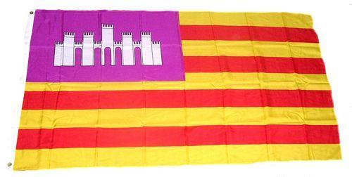 Fahne / Flagge Spanien - Balearen 90 x 150 cm