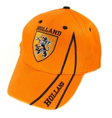 Basecap Holland Oranje