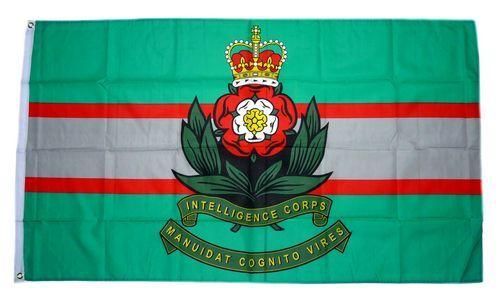 Fahne / Flagge Großbritannien Intelligance Corps 90 x 150 cm