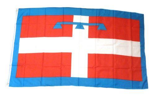 Fahne / Flagge Italien - Piemont 90 x 150 cm