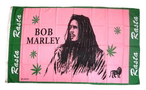 Fahne / Flagge Bob Marley Rasta 90 x 150 cm