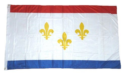 Fahne / Flagge USA - New Orleans 90 x 150 cm
