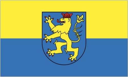 Fahne / Flagge Pößneck 90 x 150 cm