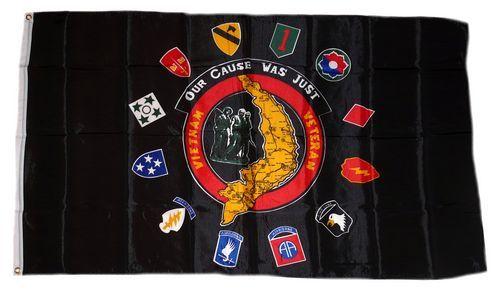 Fahne / Flagge USA - Vietnam Veteranen 90 x 150 cm