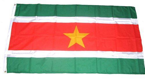 Flagge / Fahne Surinam Hissflagge 90 x 150 cm