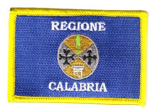 Fahnen Aufnäher Italien - Kalabrien