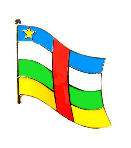 Fahnen Anstecker Pin Zentralafrikanische Republik