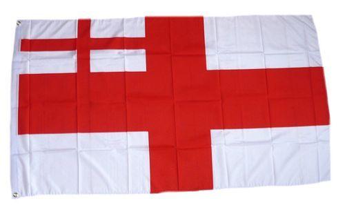 Fahne / Flagge Großbritannien White Ensign 1702-07 90 x 150 cm